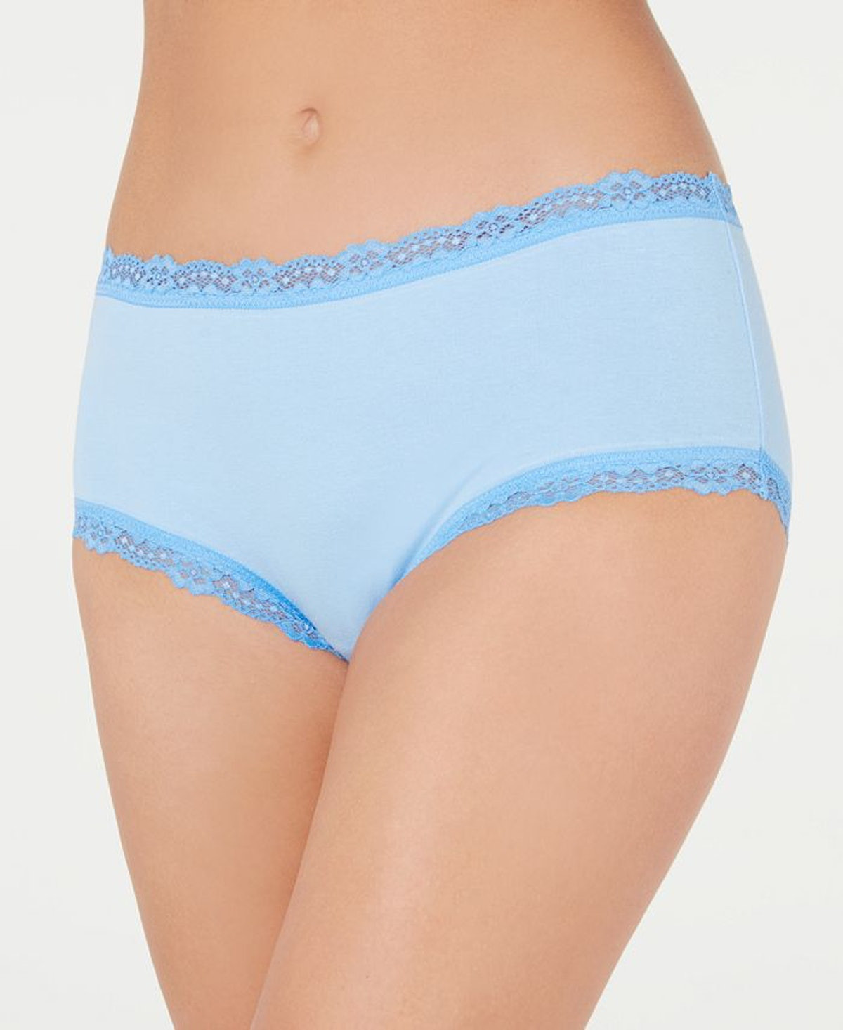 Jenni Lace Trim Hipster Underwear