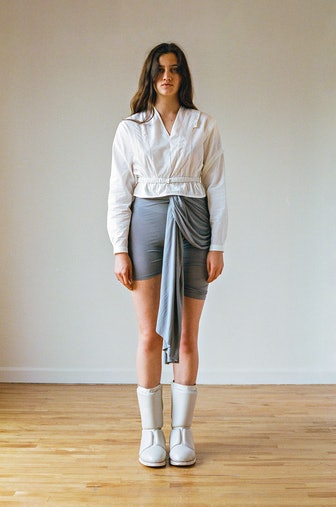 Grecian Wrap Bike Shorts