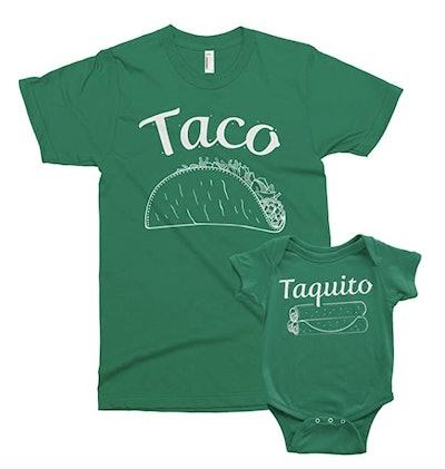 Taco & Taquito Shirt Set