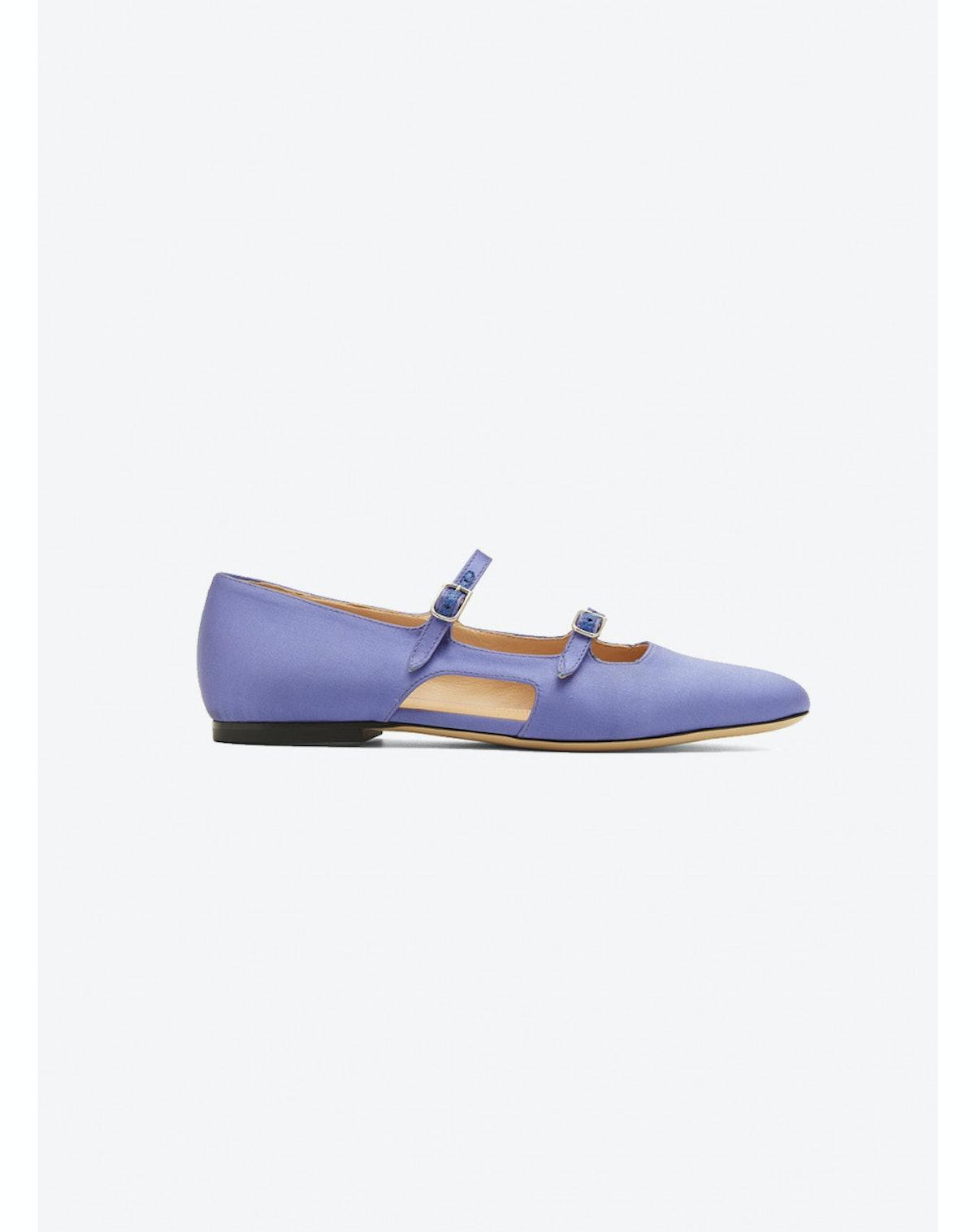 Mary Jane Satin Shoes