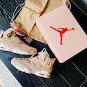 Travis Scott Air Jordan 6 British Khaki Nike sneakers shoes collaboration