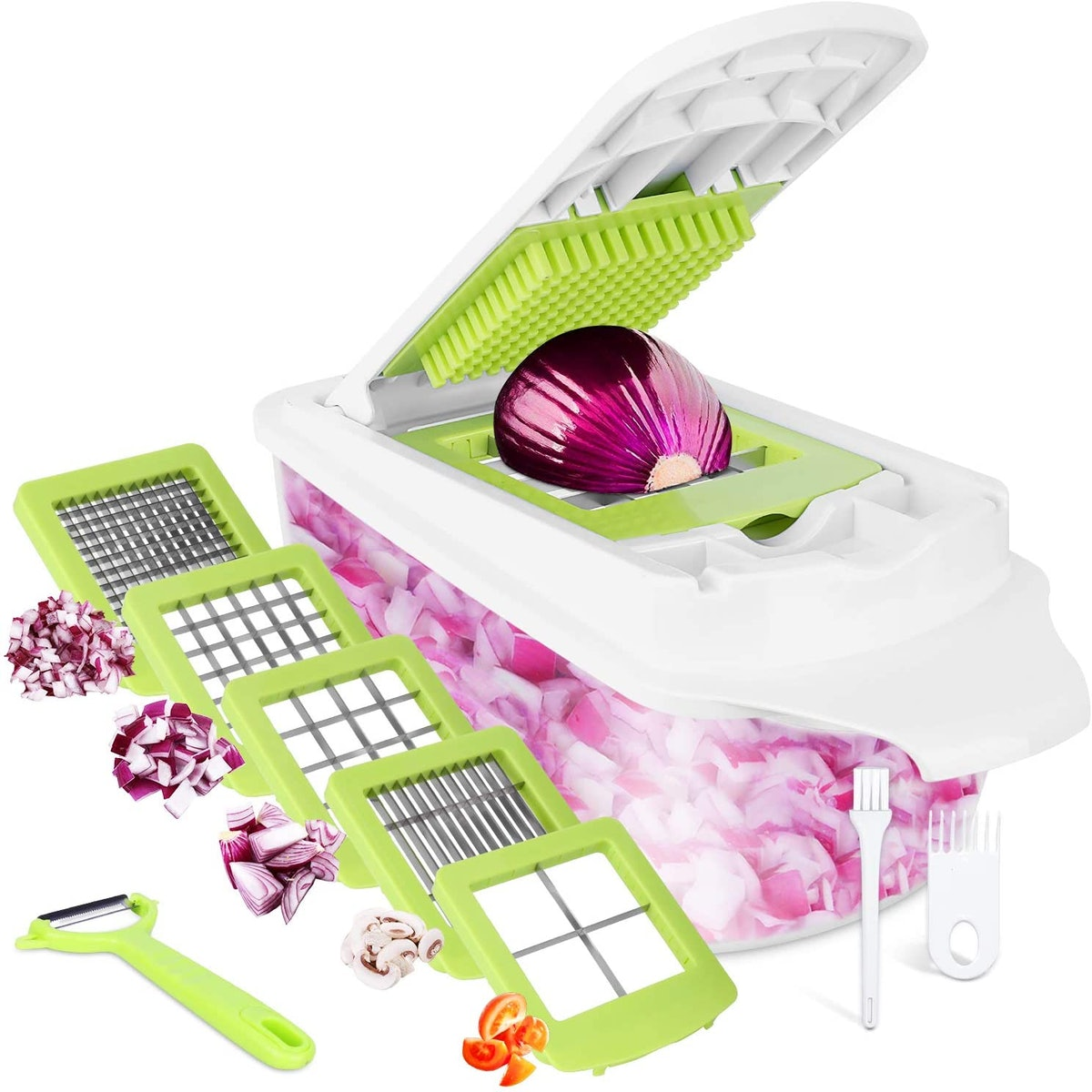 12-in-1 Sedhoom Food Choppers and Dicers Hand