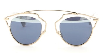 So Real Aviator Sunglasses Acetate and Metal