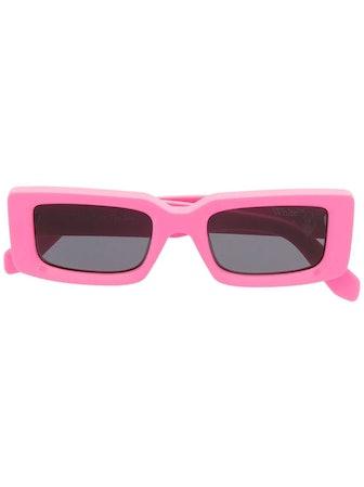 Arthur Rectangular-Frame Sunglasses
