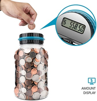 Lefree Digital Counting Money Jar
