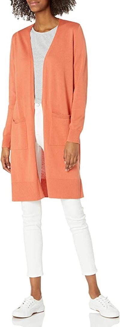 Amazon Essentials Lightweight Longline Cardigan