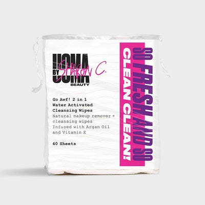 Uoma By Sharon C Go Awf! 2-In-1 Water Activated Cleansing Pads
