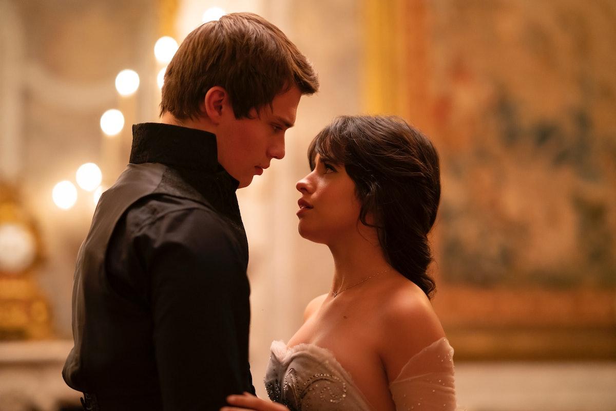 Nicholas Galitzine and Camila Cabello in 'Cinderella'