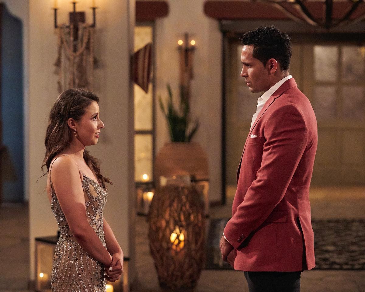Katie Thurston and Thomas Jacobs on Season 17 of 'The Bachelorette' on ABC