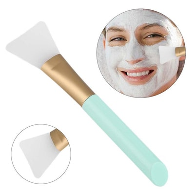 Opiqcey Silicone Face Mask and Lotion Applicator Brush (2-Pack)