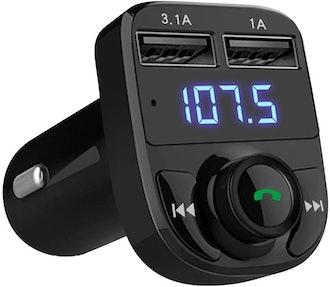 LIHAN Wireless Bluetooth FM Transmitter
