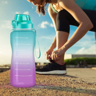 4AminLA Motivational Water Bottle