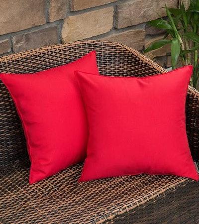 MIULEE Waterproof Pillow Covers (2-Pack)