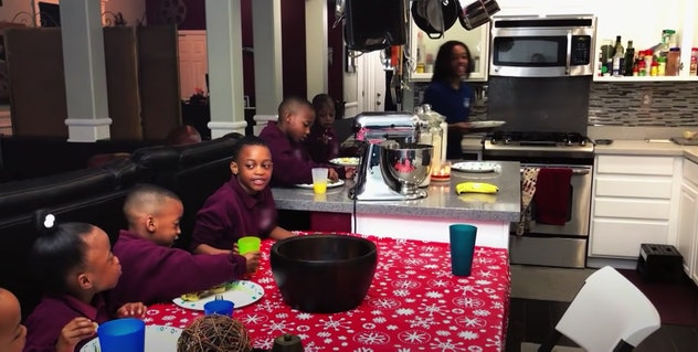 The Derricos have 14 children, and their lives are documented on the TLC reality show, 'Doubling Down with the Derricos.'