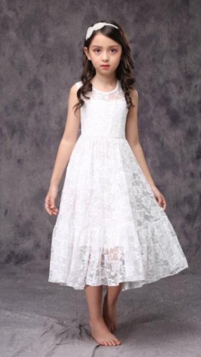 Lace First Communion Dress