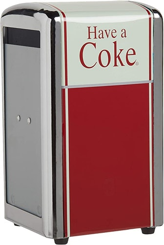 TableCraft Coca-Cola Have A Coke Napkin Dispenser