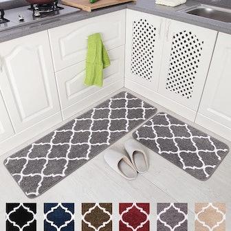 Carvapet Kitchen Mat Set (2 Pieces)