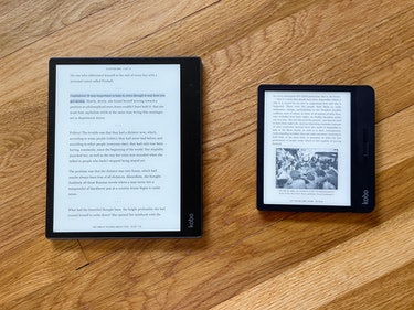Review: The Kobo Elipsa (left) is a huge e-reader compared to a more standard-sized Kobo Libra H2O (...