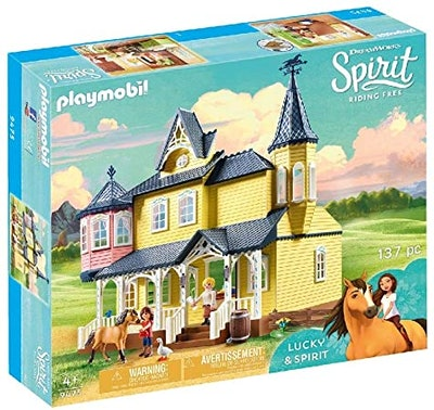 Playmobil 'Spirit: Riding Free' Lucky's House Playset