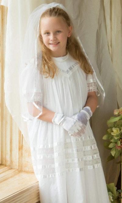 Lace Communion Dress
