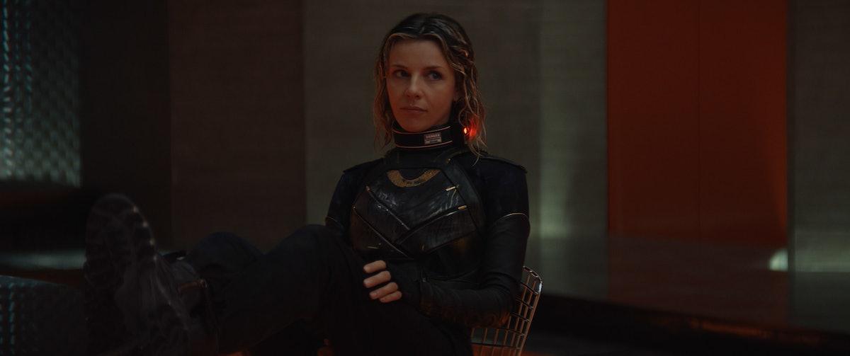 Sophia Di Martino as Sylvie captured by the TVA in 'Loki'