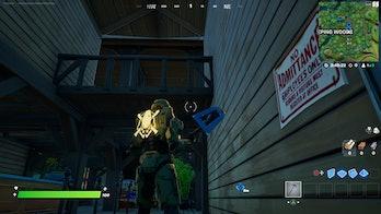 fortnite week 4 alien artifact location 2 gameplay