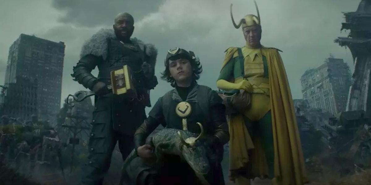 Three Lokis in 'Loki's Episode 4 mid-credits scene
