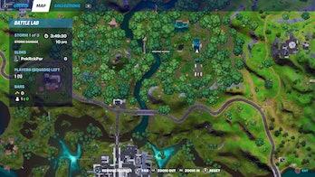 fortnite week 4 alien artifact location 2 map
