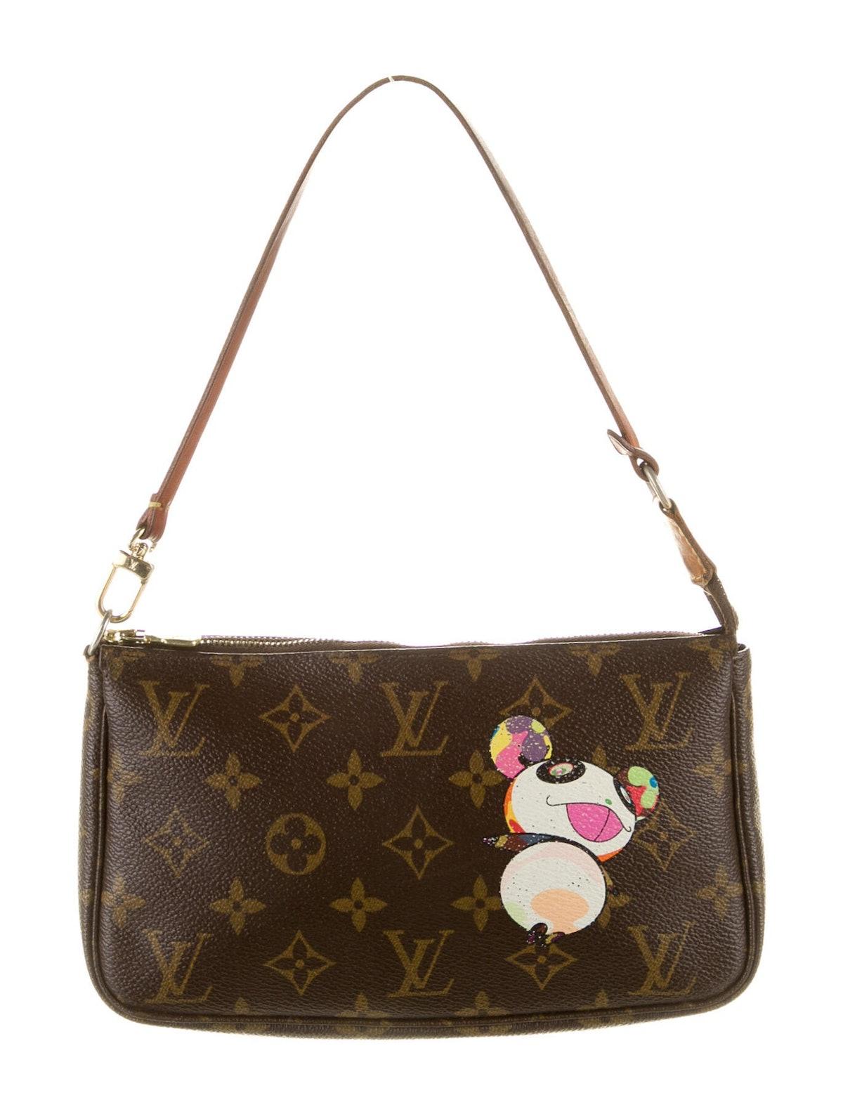 Monogram Panda Pochette Bag