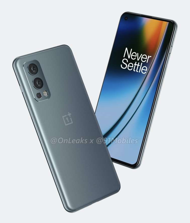 OnePlus Nord 2 leaked renders by OnLeaks and 91mobiles. Announcement on July 9. Price. Release date.
