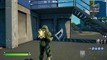 fortnite week 4 alien artifact location 3 gameplay