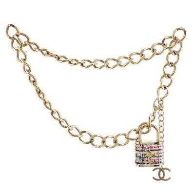 Padlock Chain Belt