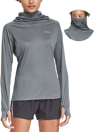 BALEAF Long-Sleeve Shirt with Face Cover