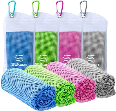 Sukeen Cooling Towels (4-Pack)