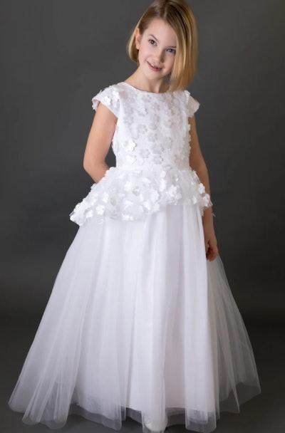 Satin Communion Dress