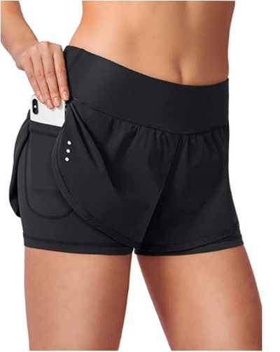 Soothfeel Running Shorts With Phone Pockets