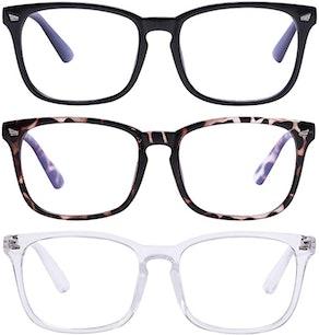 AIMADE Blue Light Blocking Glasses (3-Piece)