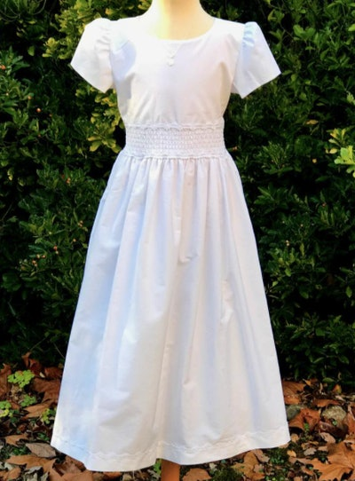 Smocked Gown