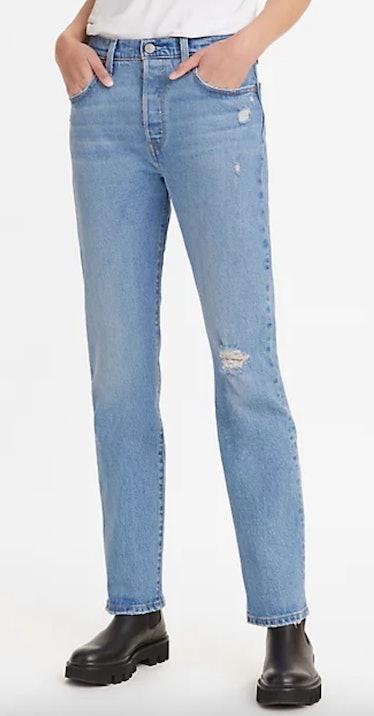 501 Original Fit Women's Jeans In Light Wash