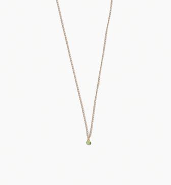 Peridot Choker Necklace