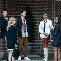 The cast of the Gossip Girl reboot via the HBO Max press site