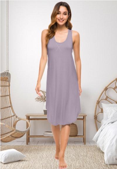 WiWi Soft Bamboo Nightgown