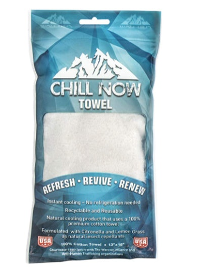 Chill Now Cotton Cooling Towel