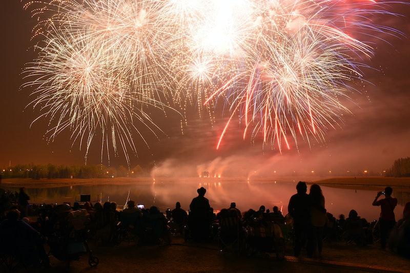 25 Instagram caption ideas for Fourth of fireworks photos.