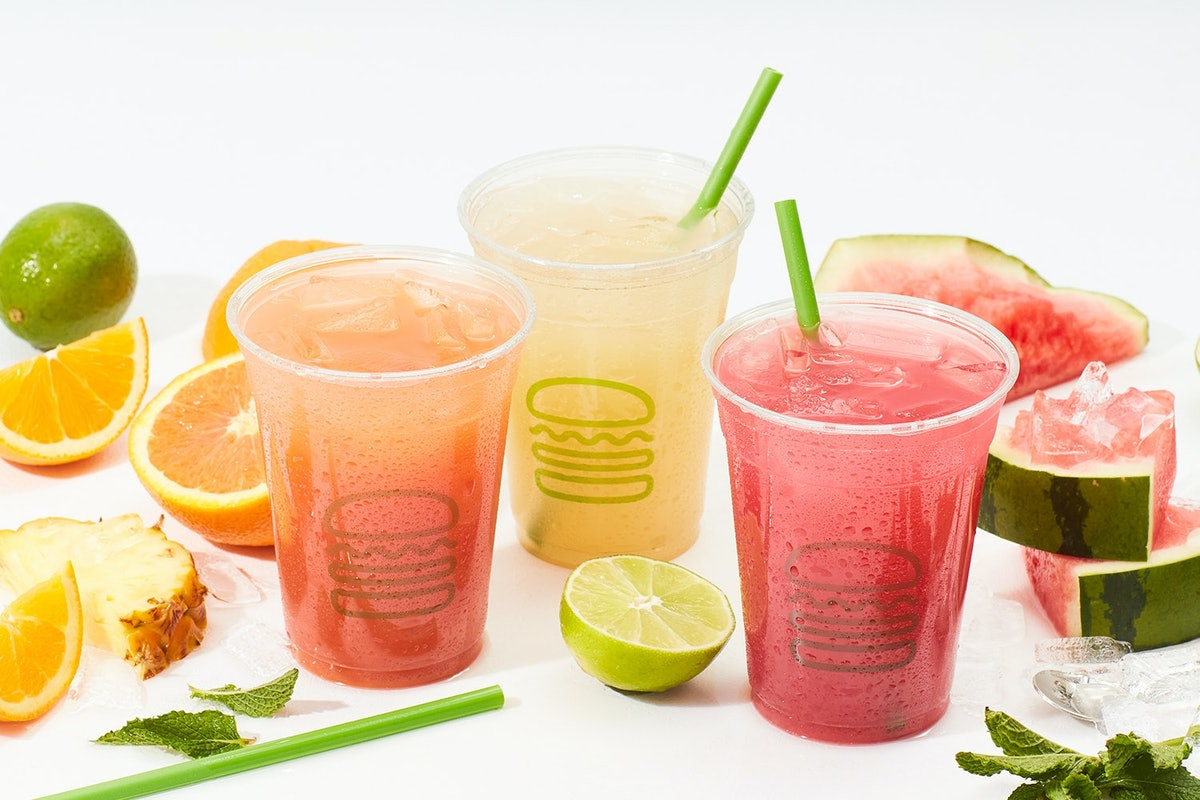 Shake Shack's summer 2021 menu includes refreshing sips like non-alcoholic margaritas and mojitos.