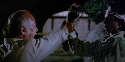 The 1984 film, 'The Karate Kid' streams on Netflix on July 1.