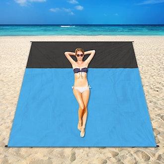 YEEPSYS Oversized Lightweight Beach Blanket