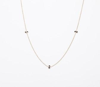 Triple Twin Diamond Necklace