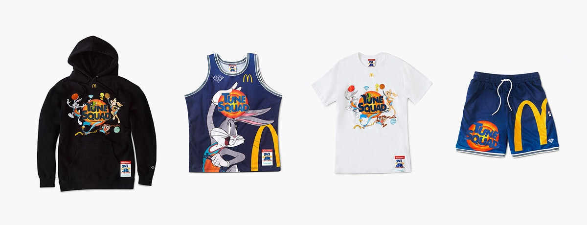 You can buy McDonald's Space Jam collection online.