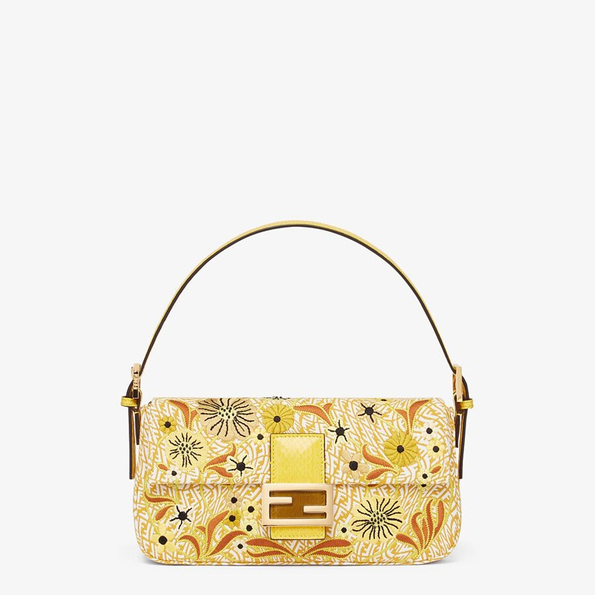 FF Vertigo Jacquard Bag With Embroidery